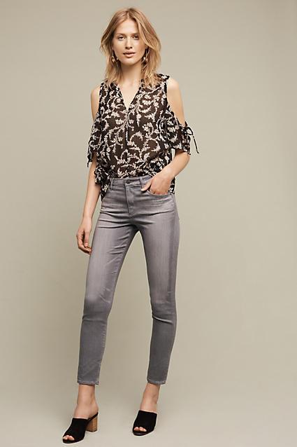 AG JeansAG Jeans AG Stevie Ultra High-Rise Ankle Jeans