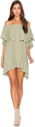 MLM Label Maison Shoulder Dress $165 thestylecure.com