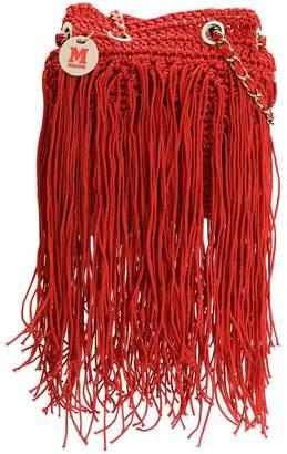 M Missoni fringed knit tote