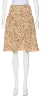 Marc Jacobs Knee-Length A-Line Skirt Brown Knee-Length A-Line Skirt