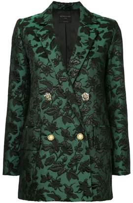 Mother of Pearl baroque patterned blazer