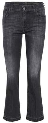 7 For All Mankind The Ankle Flare cropped jeans