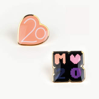 Maje Pin Badges X 20 years