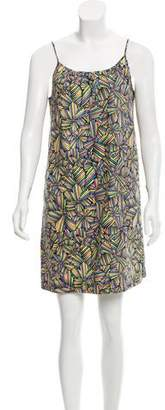 Marc by Marc Jacobs Abstract Print Shift Dress