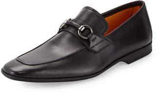 Magnanni Leather Bit Loafer