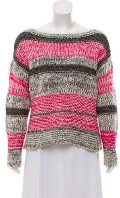 Etoile Isabel Marant Striped Long Sleeve Sweater