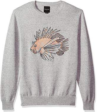 Barney Cools Men's Lion Fish Knit