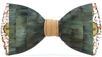 Brackish & Bell Lowry Feather Bow Tie