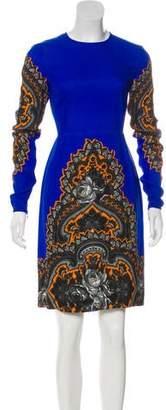 Stella McCartney Long Sleeve Knee-Length Dress
