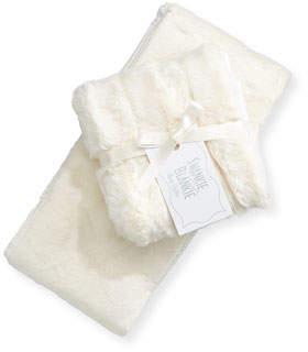 Swankie Blankie Burp Cloth Set, Plain