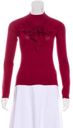 Emporio Armani Silk Long Sleeve Top