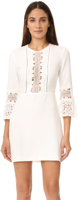 WAYF Somerset Lace Trim Dress $101 thestylecure.com