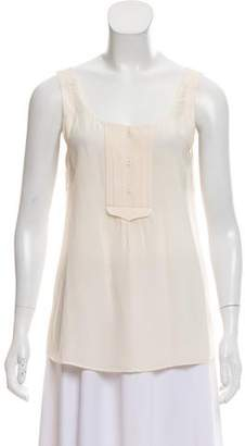 Rebecca Minkoff Silk Sleeveless Top