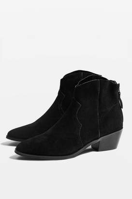 Topshop **Wide fit BETTY Western Boots