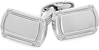 Murano High-Polish Stainless Steel Cuff Links