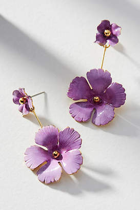 Jennifer Behr Julia Floral Front-Back Earrings