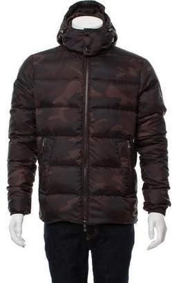 Michael Kors 2014 Camo Puffer Coat