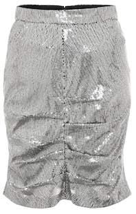 MSGM Sequined miniskirt
