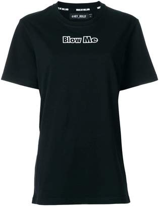 House of Holland Blow Me T-shirt