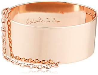 Rebecca Minkoff Handcuff with Chain Cuff Bracelet
