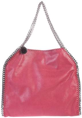 at Italist · Stella McCartney Falabella Small Double Chain Faux Leather Tote 25eb751044