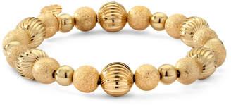JCPenney MONET JEWELRY Monet Gold-Tone Beaded Stretch Bracelet
