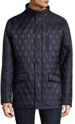 Rainforest Heated Quilted Field Jacket