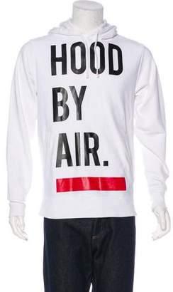 Hood by Air Graphic Logo Hoodie