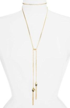 Women's Vanessa Mooney Zoe Wrap Necklace $162 thestylecure.com