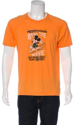 Dolce & Gabbana Mickey Mouse Print T-Shirt