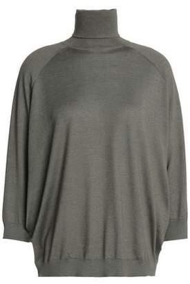 Brunello Cucinelli Cashmere And Silk-Blend Turtleneck Sweater