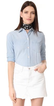Madewell Ex Boyfriend Shirt $72 thestylecure.com