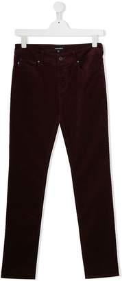 Emporio Armani Kids TEEN skinny-fit jeans