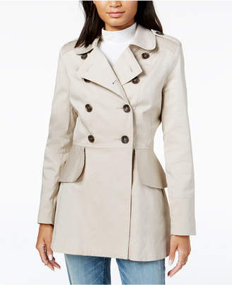 Maison Jules Peplum-Detail Trench Coat, Created for Macy's