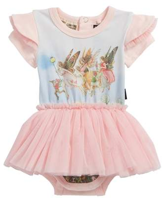 Rock Your Baby Moonlight Fairies Circus Bodysuit Dress