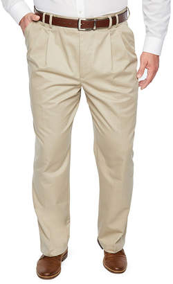 Izod Classic Fit Pleated Pants Big and Tall