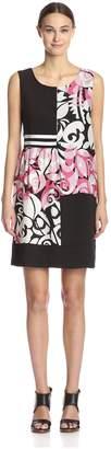Beatrice. B Women's Sleeveless Printed Dress