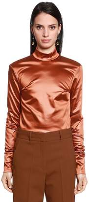Jil Sander Stretch Satin Shirt