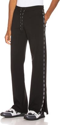 Valentino Logo Sweatpant in Black | FWRD