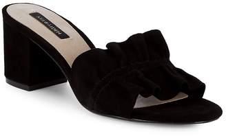 Ava & Aiden Women's Block Heel Leather Sandals