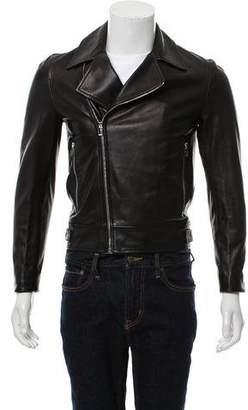 Christian Dior Leather Moto Jacket