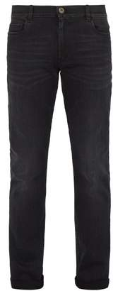 Prada Slim Leg Stretch Denim Jeans - Mens - Black