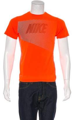 Nike Dri-Fit Abstract Print T-Shirt