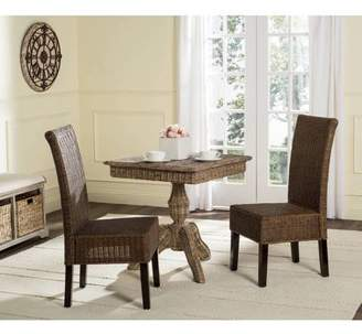 Safavieh Arjun Wicker Dining Chair, Multiple Colors, Set of 2