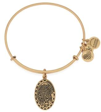 Alex and Ani 'I Love You Daughter' Expandable Wire Bangle