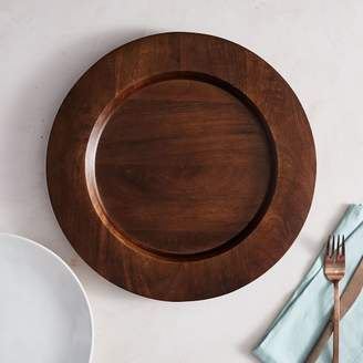 west elm Wood Charger