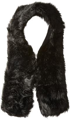 Hat Attack - Long Faux Fur Collar Scarves $90 thestylecure.com
