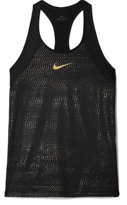 Nike Pro Mesh Tank - Black