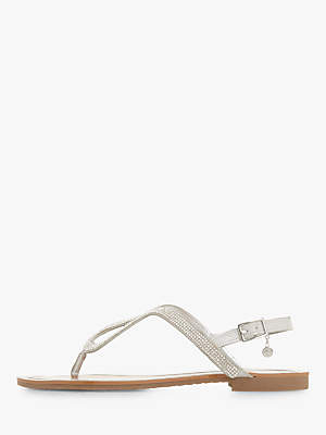 aef7fd830f4af Dune Diamante Sandals - ShopStyle UK