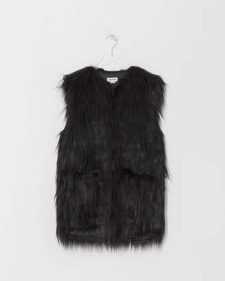 Zadig & Voltaire Noir Faux Fur Vest